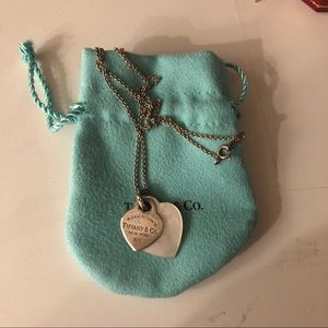 Authentic Tiffany&co Return to Tiffany Necklace